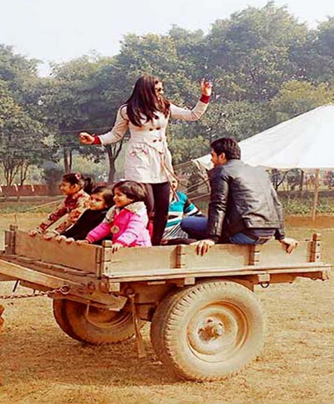 Village Masti Bullacart Ride